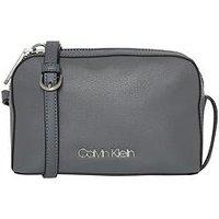 Calvin Klein Calvin Klien Drive Grey Camera Bag, Grey, Women