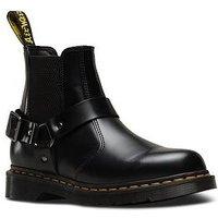 Dr Martens Dr Martens Wincox Chelsea Biker Ankle Boot, Black, Size 5, Women