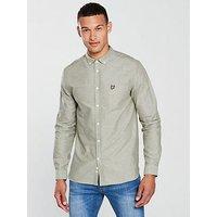 Lyle & Scott Lyle & Scott Oxford Shirt, Woodland Green, Size Xl, Men