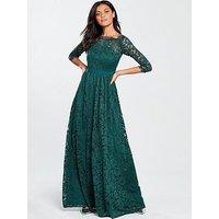 V By Very Bridesmaid Maxi Dress - Green