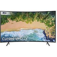 Samsung Ue55Nu7300, 55 Inch, Curved Ultra Hd 4K Certified, Hdr, Smart Tv