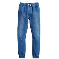 Joules Boys Bowen Jersey Denim Trouser, Denim, Size 1 Year