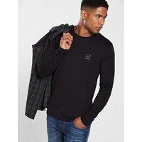 BOSS Longsleeve T-Shirt, Black, Size M, Men