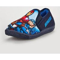 The Avengers Avengers Boys Slippers, Multi, Size 10 Younger