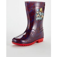 The Avengers Avengers Boys Wellie, Multi, Size 11 Younger