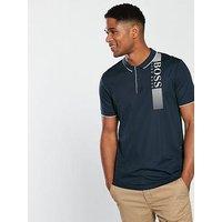 BOSS Chest Logo Polo Shirt, Navy, Size 2Xl, Men