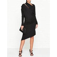 Vivienne Westwood Anglomania Jersey Timans Long Sleeve Dress - Black