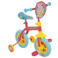 Peppa Pig 2-In-1 10 Inch Training Bike
