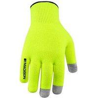 MADISON Isoler Merino Gloves - Hi-Viz Yellow, One Colour, Size Xl, Women