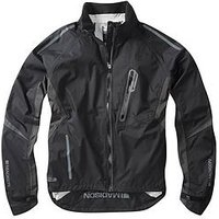 MADISON Stellar Men's Waterproof Cycle Jacket - Stealth Black, One Colour, Size Small, Men