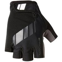 MADISON Peloton Men's Cycle Mitts - Black, One Colour, Size Medium, Men