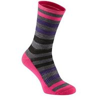 MADISON Isoler Merino 3-Season Cycle Sock - Pink Pop, One Colour, Size Xl, Women