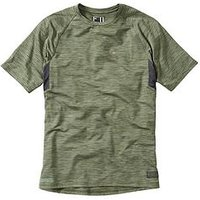 MADISON Roam Marl Short Sleeve Cycle Jersey, One Colour, Size Medium, Men