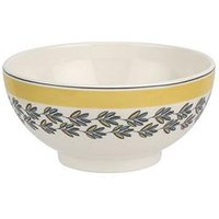 Portmeirion Westerly Yellow Set Of 4 Cereal Bowls