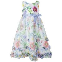 Monsoon Girls Mimosa High Low Dress, Multi, Size 12-13 Years, Women