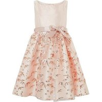 Monsoon Girls Swallow Dress, Rose Gold, Size 9 Years, Women