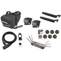 Mountain Bike Accessory Kit Including Coil Cable Lock