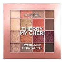 L'Oreal Paris L'Oreal Paris Paradise Pastel Eyeshadow Palette Cherry My Cheri, Multi, Women