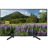 Sony Kd43Xf7003 43 Inch, 4K Hdr Ultra Hd, Smart Tv With Freeview Play - Black