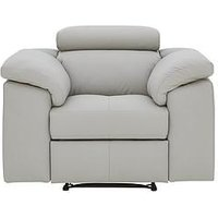Brady Faux Leather Manual Recliner Chair