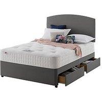 Rest Assured Amesbury 1400 Pocket Tufted Ortho Divan Bed - Firm