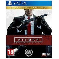 Playstation 4 Hitman Definitive Steelbook Edition - Ps4