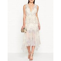 Alice Mccall Clementine Lace Sleeveless Midi Dress - Cream