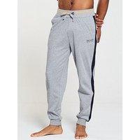 BOSS Authentic Cuffed Loungepant, Grey, Size 2Xl, Men
