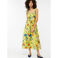 Monsoon Flora Print Sundress - Yellow