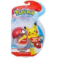 Pokemon Pop Action PokÉ Ball (Assorted)