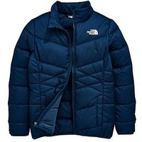 THE NORTH FACE Girls Andes Down Jacket, Blue, Size Xs=6 Years, Women