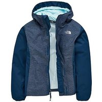 THE NORTH FACE Girls Resolve Jacket, Teal, Size M=10-12 Years, Women