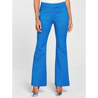 V by Very Fashion Flare - Blue, Blue, Size 16, Women