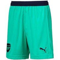 Boys, Puma Puma Arsenal Youth Third 18/19 Replica Short, Green, Size 7-8 Years