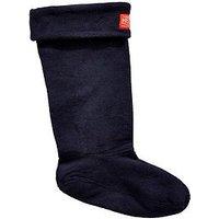 Joules Z_Welton Welly Sock - Navy , Navy, Size 7-8, Women