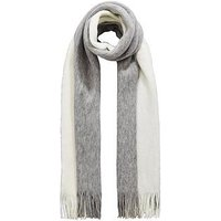 V by Very Edee Two Colour Scarf - Grey/White, Grey/White, Women