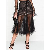 Alice Mccall Just Can'T Help It Midi Skirt - Black