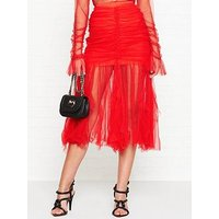Alice Mccall Just Can'T Help It Midi Skirt - Red