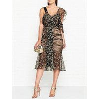 Alice Mccall Nobody But You Lace Dress - Black/Gold
