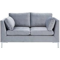 Ideal Home Sheen Fabric 2 Seater Sofa