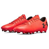 UNDER ARMOUR Under Armour Mens Magnetico Select Firm Ground Football Boots, Red, Size 6, Men