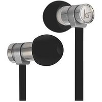 Kitsound Nova Wired Portable Earphones With Built-In Microphone &Ndash; Black