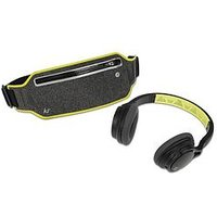 Kitsound Exert Wireless Bluetooth Sports On-Ear Headphones With Carry Pouch