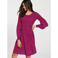 Boss A-Line Dress - Heart Print
