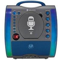 The Singing Machine Sml363 Glow Karaoke Machine &Ndash; Black