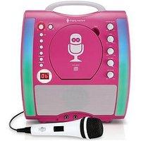 The Singing Machine Sml363 Glow Karaoke Machine &Ndash; Pink