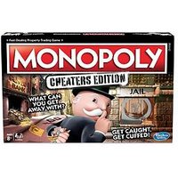 Monopoly Monopoly Cheaters Edition Board Game