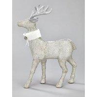 Diamante Stag Christmas Decoration