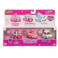 Shopkins Cutie Cars 3 Pack Tea Brake Collection