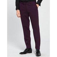 Jack & Jones Jack & Jones PremiumWinter Steven Suit Trouser, Purple, Size 50=Uk34In, Men